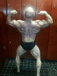 This is Mike - a nationally ranked bodybuilder.